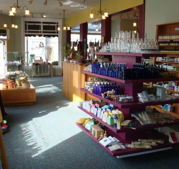 Interior of Humboldt Herbals
